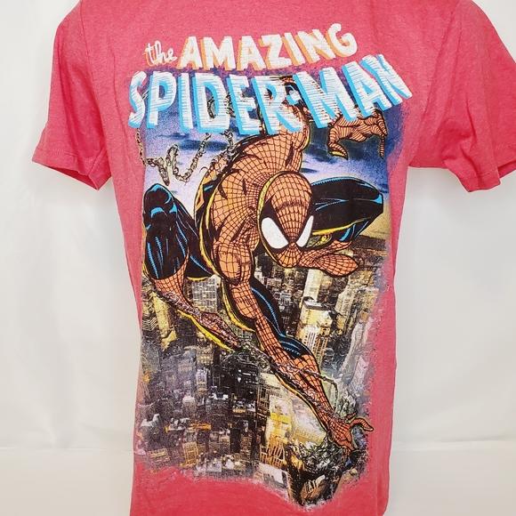 Marvel Men's The Amazing Spider-Man Tee Shirt